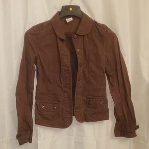 Old Navy Women's Brown Jean Jacket Size M